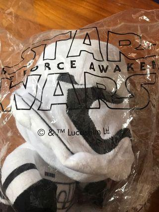 AUTHENTIC LIMITED EDITION STAR WARS SOFT TOY