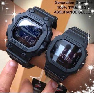 GKING💝COUPLE💝SET in GSHOCK DIVER WATCH : 100% ORIGINAL AUTHENTIC G-SHOCK : 1-YEAR OFFICIAL WARRANTY : GX-56BB-1 + DW-5600BB-1 / DW5600BB-1 / GX56BB-1 / CASIO / BABYG / GSHOCK / WATCH