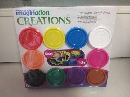 全新 imagination creations 泥膠一盒