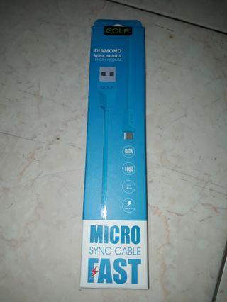 Micro Sync USB cable