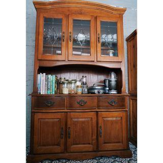 Traditional Farmhouse Wooden Display Cabinet/Larder