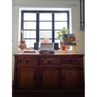 Rustic Farmhouse Style Wooden Cabinet/Sideboard