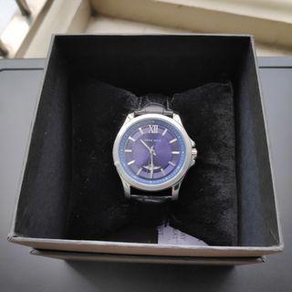 Aries Gold Black/Blue Analog Watch