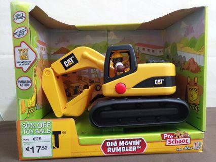 歐洲貨辨 Cat 巨型電動剷泥車