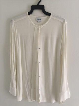 🚚 White Bimbay Lola blouse