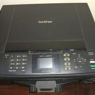 Printer WARNA BROTHER MFC-J265W ,Scan, Copy, Fax (Second)