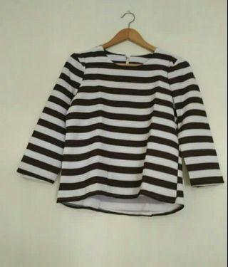 #BAPAU blouse stripe
