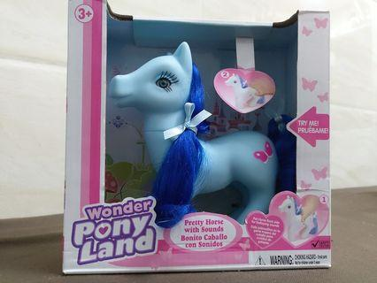 歐洲貨辨 wonder pony land 彩虹小馬