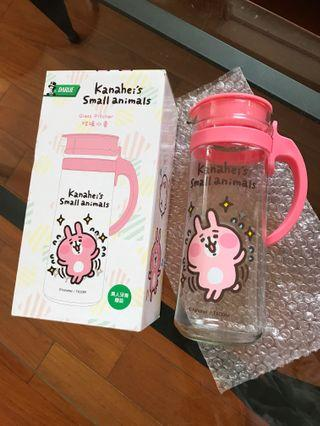 全新 Kanahei's Glass Pitcher 玻璃水壺