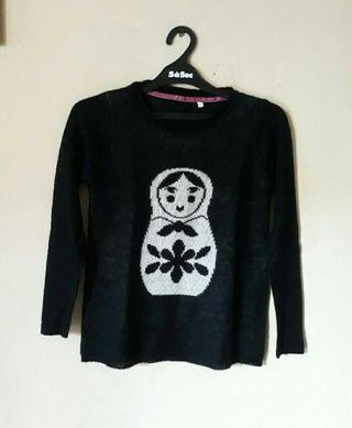 #BAPAU knit black
