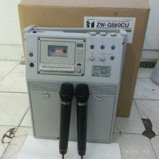 Pengeras Suara AMPLIFIER Brand: TOA Model: ZW-G810CU (Second)