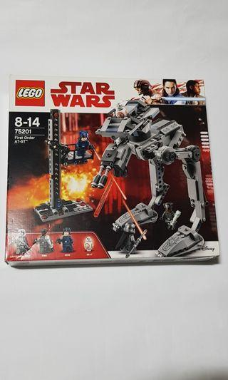 Lego 75201 First Order AT-ST Star Wars