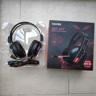 Valore Gaming Headset with Microphone