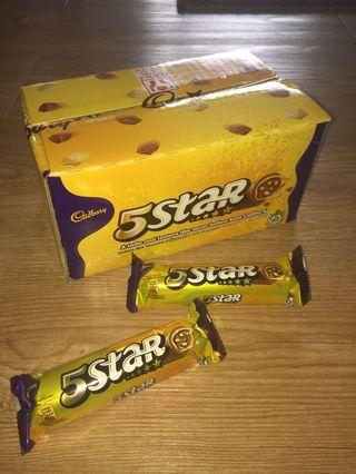Cadbury 5 Stars