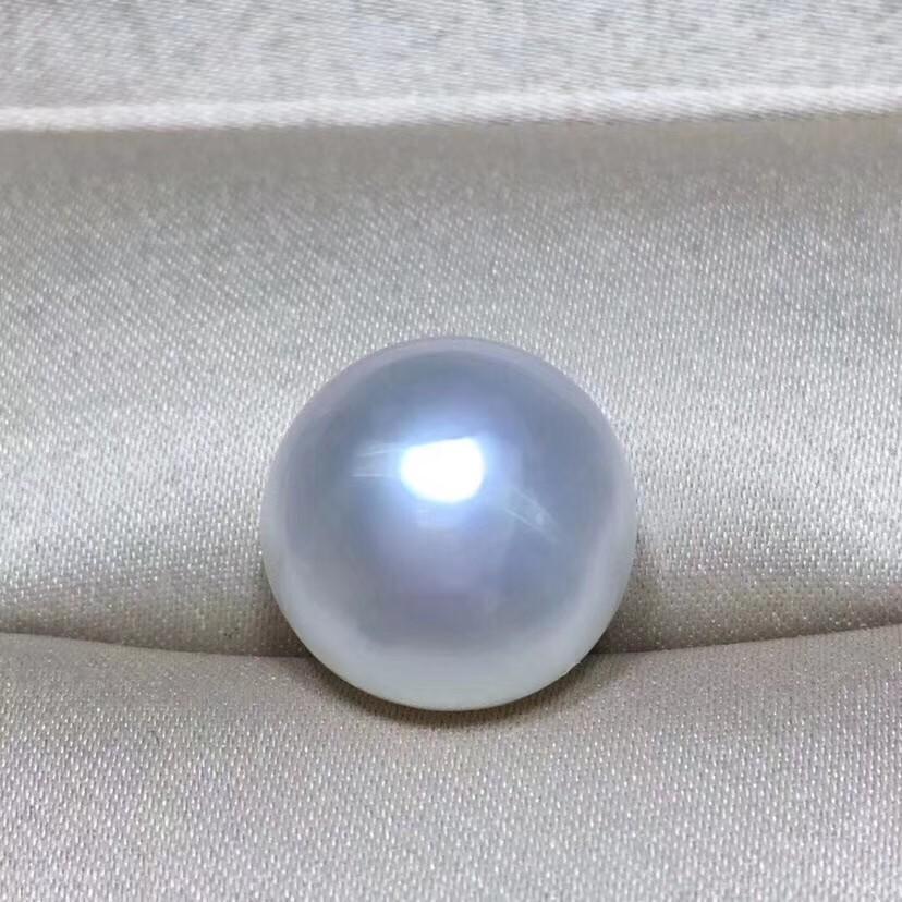 超美冷白色光澳洲白珠13-14mm