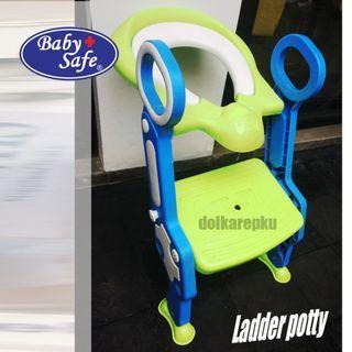 Baby + Safe Ladder Potty
