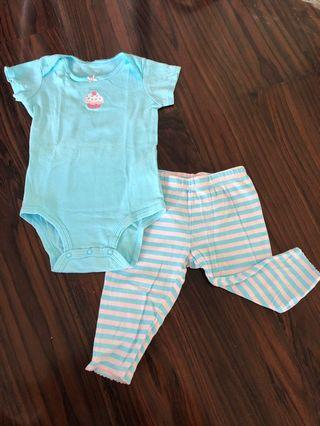 Take all! Carter's 2-piece set and cute romper