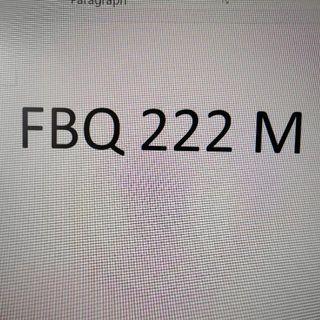 Nice Number Plate