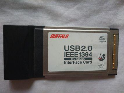 Buffalo USB 2.0 IEEE 1394 InterFace Card
