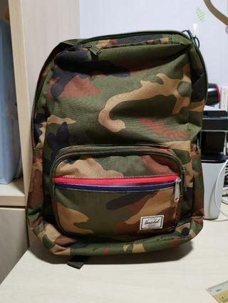 Hershel camo backpack