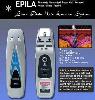 Epila Advance Personal Laser Hair Removal.