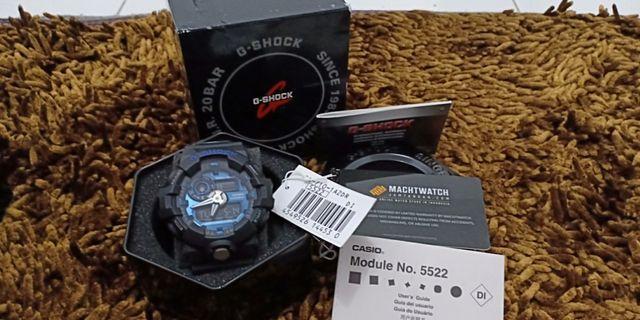 Jam G-Shock GA-710 Blue