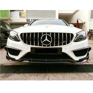 Mercedes Benz W205 C Class Brabus Carbon Front Lip