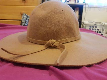 Brown sun hat