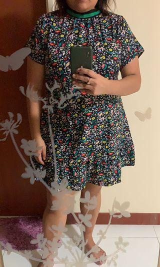 Brand new plus size floral mermaid dress