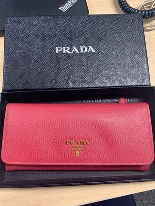 Prada Saffiano Wallet for sale