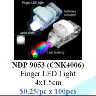 LED Finger Light $25/100pcs