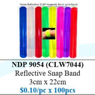 Reflective Snap Band $10/100pcs