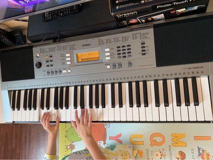 Yamaha 電子琴 PSRE353