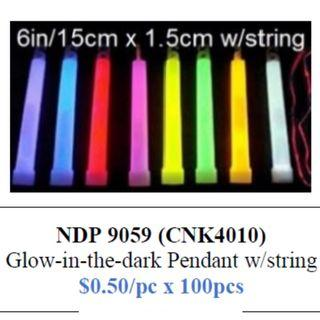 Glow-in-the-Dark Lightstick Glow Stick $50/100pcs