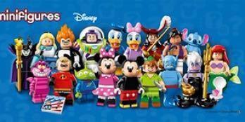 Lego Disney Minifigures Series 1 全套 18隻