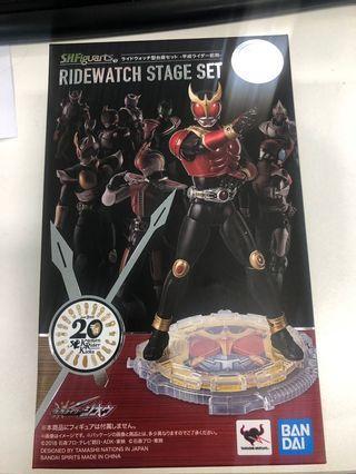 全新日版 s.h.f. 仮面ライダー 假面騎士 Kamen Rider 幪面超人 平成前期 底座 台座 set shf