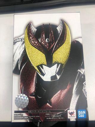 全新日版 s.h.f. 真骨彫 仮面ライダーキバ 假面騎士 Kamen Rider 幪面超人Kiva 月騎 不連特典 shf