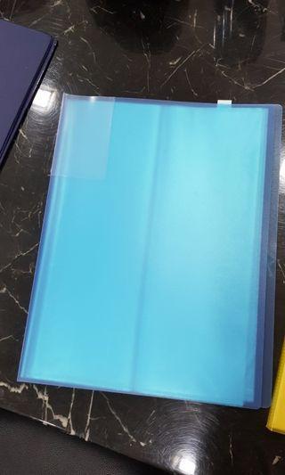 A4 Plastic Clear Folders