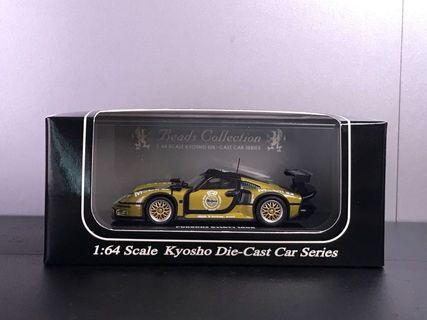 1/64 Kyosho Porsche 911 GT1 1996 Test car