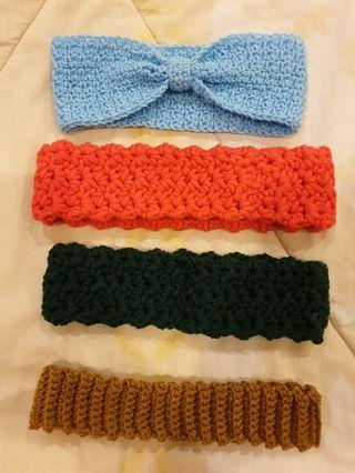 Hand Knitted Hair Band