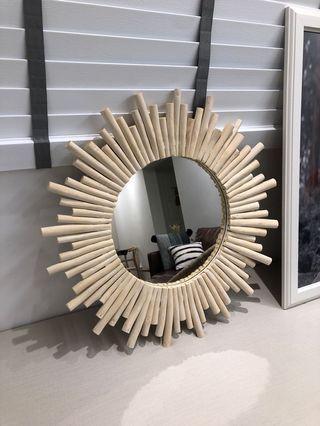Nordic Sunburst Mirror