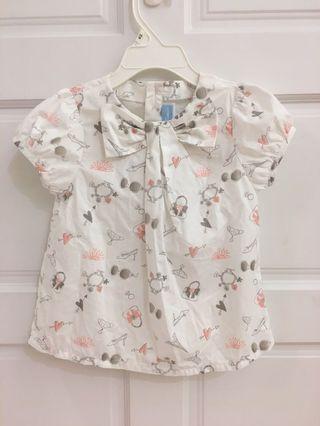 🚚 4歲二手衣麗嬰房專櫃上衣