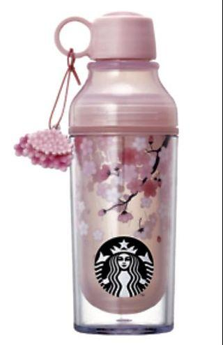 Starbucks Korea 2019 Cherry Blossom LED Lena Water Bottle (limited edition)