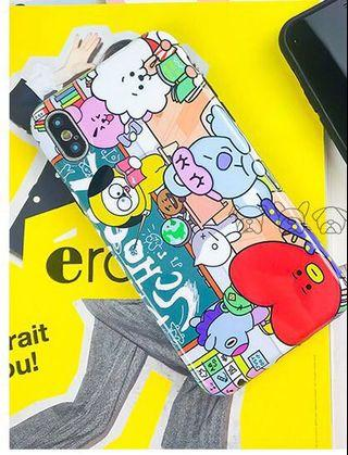 🚚 [PO] BT21 Iphone Casing