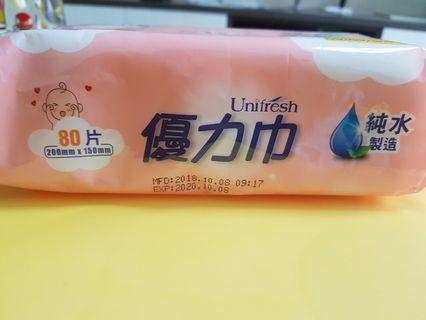 🚚 優力巾純水濕紙巾