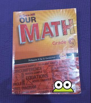 McGraw-Hill Our Math 9