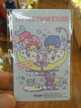 Little Twin Stars ezlink #MRTRaffles #MRTPunggol
