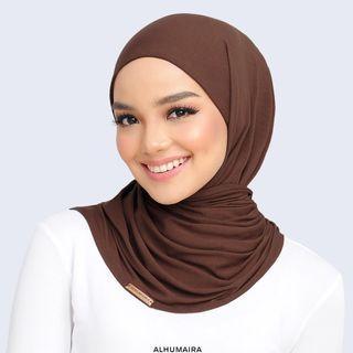 Alhumaira Stella Premium Pinless Hijab #gayaraya