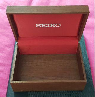 Extremely good condition vintage seiko Watch Box