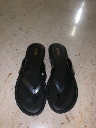 Mellisa black sandals